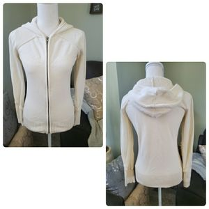 DKNY jeans full zip hooded sweater